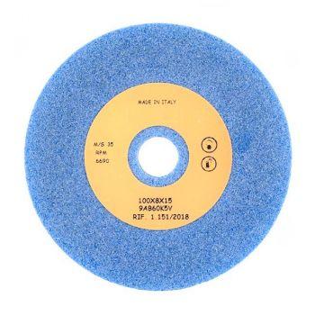 Заточной камень R07401 AZ голубой GRIND.STONE 100X8X15 AZ (TECON, Италия)