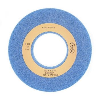 Заточной камень Q99356020 AZ голубой GRIND.STONE 100X8X40 AZ (TECON, Италия)