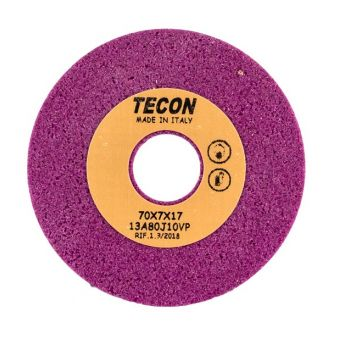 Заточной камень 70X7X17 comp. Comelz SX22 рубиновый пористый GRIND.STONE RUB. POR. (TECON, Италия)