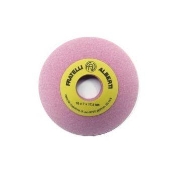 400 RO заточной камень 70x7x17,5 розовый пористый (FAV Original)