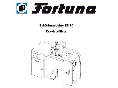 Техническая документация - каталоги запчастей Fortuna