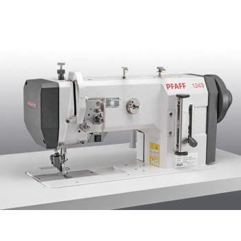 PFAFF 1243-4/01-900/56-911/97 Одноигольная швейная машина челночного стежка с верхним роликовым транспортом с плоской платформой в комплекте