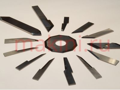 Ножи и расходники для раскройных комплексов и плоттеров Lectra, Morgan, Zund, Bullmer, Kuris, Gerber, Teseo, Atom