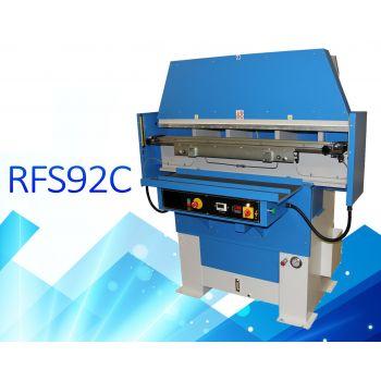 Galli RFS92C Линейный гидравлический пресс для тиснения ремней, рабочее поле 1500 x 100 мм, усилие 90 тонн