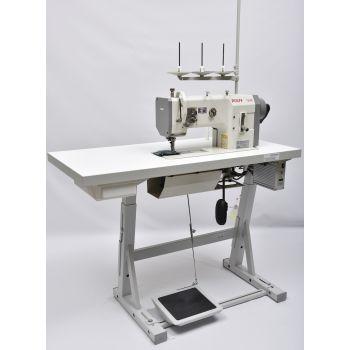 PFAFF 1245-6/01 Одноигольная швейная машина челночного стежка с тройным транспортом