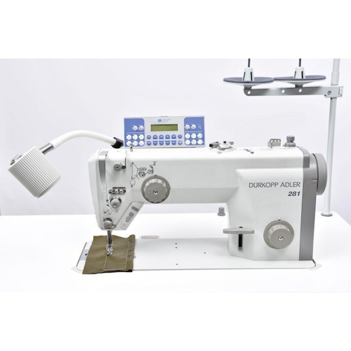 На складе в Санкт-Петербурге Durkopp Adler 281-140342-03 Одноигольная швейная машина для легких и средних материалов
