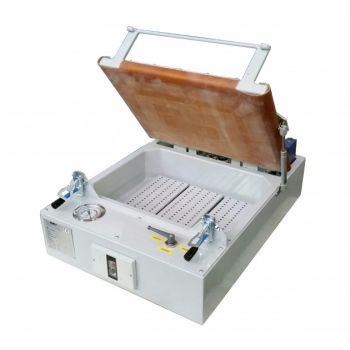 Ginev VACUUM NANO Вакуумный пресс с одним резервуаром и резиновой мембраной - с вакуумметром и вакуумным выключателем 230V / 50Hz Одна фаза