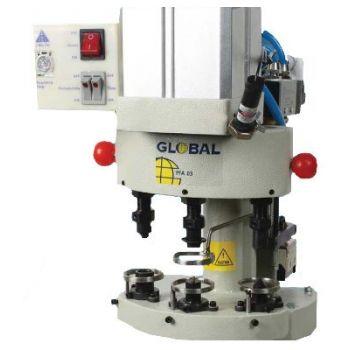Global PFA−03 трехпозиционный пневматический пресс для установки металлофурнитуры