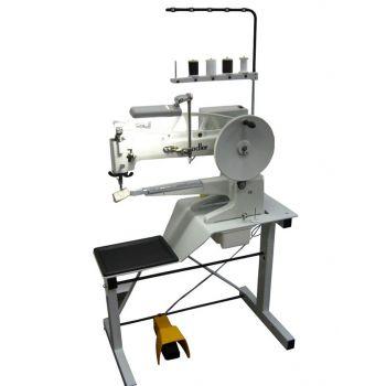 Adler 30-10 швейная машина со столом, станиной для ремонта обуви с двигателем Ho-Hsing G-60