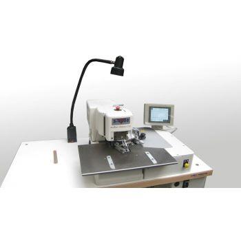 AMF Reece S-4000 ISBH Indexer-электронный, петельный полуавтомат для имитации прямых петель на рукавах пиджака