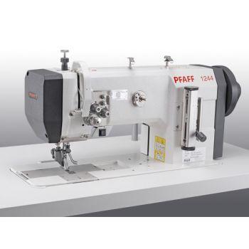 PFAFF 1244-4/01-900/56-911/97 Двухигольная швейная машина челночного стежка с плоской платформой с верхним приводным роликом