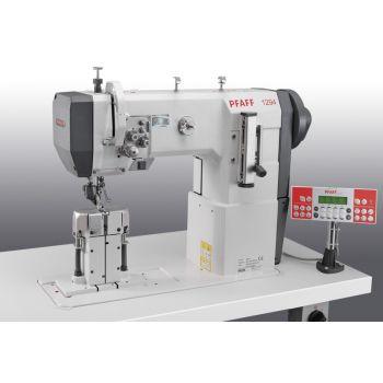 PFAFF 1294-4/01-900/56-911/97 Двухигольная швейная машина челночного стежка с колонковой платформой с тройным транспортом