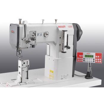 PFAFF 1295-6/01 Одноигольная швейная машина челночного стежка с колонковой платформой с тройным транспортом