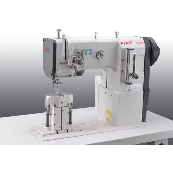 PFAFF 1296-6/01 Двухигольная швейная машина челночного стежка с колонковой платформой с тройным транспортом