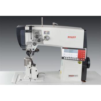 PFAFF 1571-725/04 Одноигольная швейная машина челночного стежка с колонковой платформой с роликовым транспортером