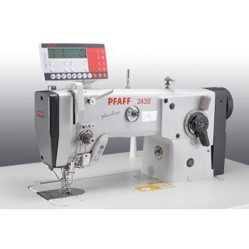 PFAFF 2438-6/03-980/32 Швейная машина челночного стежка для пришивания этикеток зигзаг строчкой