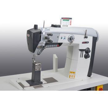 PFAFF 2595-521/001 Одноигольная швейная машина челночного стежка с колонковой платформой с тройным транспортом