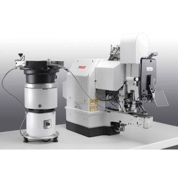 PFAFF 3307-1/11 Полуавтомат однониточного цепного стежка для пришивания плоских пуговиц с электронным управлением.