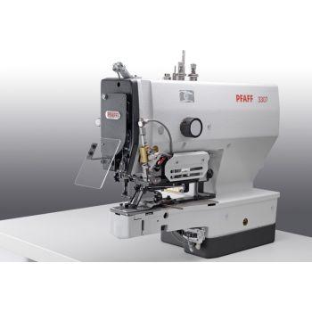 PFAFF 3307-1/13 Полуавтомат однониточного цепного стежка для пришивания плоских пуговиц с электронным управлением.