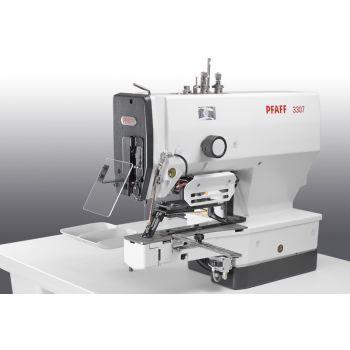 PFAFF 3307-1/01 Полуавтомат однониточного цепного стежка для пришивания плоских пуговиц с электронным управлением.