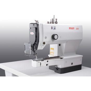 PFAFF 3307-4/02 Полуавтомат однониточного цепного стежка для пришивания плоских пуговиц с электронным управлением.