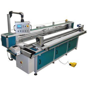 Перемоточно-промерочная машина для ткани для рулонных штор REXEL CTLR-3000