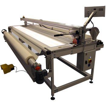 Мерильно-браковочная машина для ткани для рулонных штор REXEL CTLR-3200 ECO