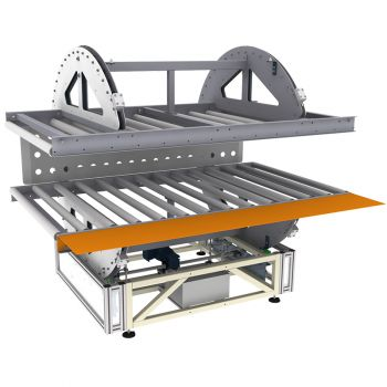 Одноосная машина для переворачивания матрасов REXEL WM-1