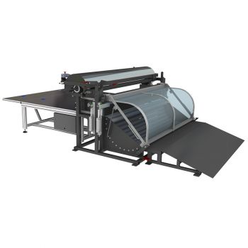 Машина для размотки пружинных блоков типа боннель REXEL MRP-1