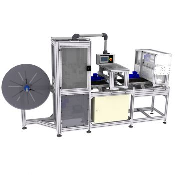 Машина для маркировки и отрезания ткани REXEL MC-1