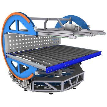 Двухосная машина для переворачивания матрасов REXEL WM-2