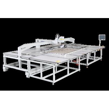 Richpeace RPAS-L-R-1-1600X1200-AB-IS2-VR2-LH50, RH360, UTC-1P220 Широкоформатная швейная машина с вращением на 360 °