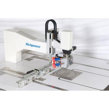 Richpeace RPAS-HM-1-900 × 600-A-2.6-LH, RH Автоматическая двухигольная универсальная швейная машина с поворотной головкой