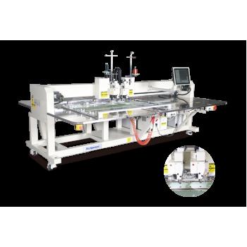 Richpeace RPAS-L-O-2-900X700-B-2HR-UTC Автоматическая двухголовочная швейная машина с двумя цветами