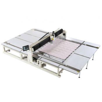 Richpeace RPAS-LM-PQ-1-2500x2600-B-IS-VR2-LH50, RH360 ° -3P380V прецизионная стегальная машина с вращающейся головкой - специальная машина для пуховых одеял