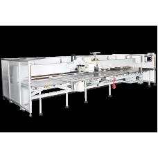 Richpeace RPCE-L-P + E + S-1-1200X800-B-P6 + F9 + IS-VR1, VR2-LH50-AO, RH360-3P380 Автоматическая машина для перфорации отверстий неправильной формы + вышивка + швейная (поворотная головка)