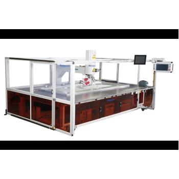 Richpeace RPAS-HM-1-2100X800-B-IS, FD5-HR2.6-LH100,RH ,UTC-3P380V Автоматическая швейная машина для подушек безопасности