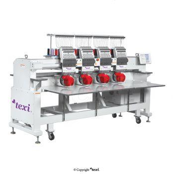 TEXI 1204 TS PREMIUM LARGE 4-головочная, 12-игольная вышивальная машина со станиной, увеличенное поле вышивки