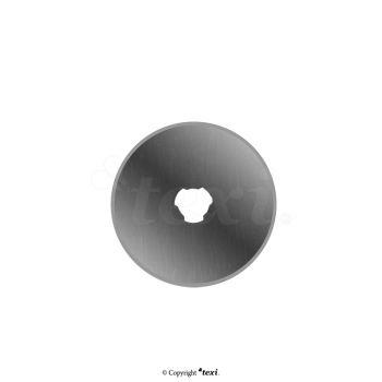 TEXI 4056 Лезвие круглого резца 28 мм, прямое, 2 шт