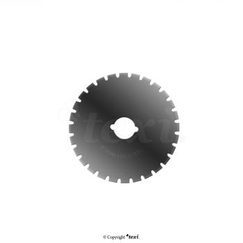 TEXI 4058 Лезвие круглого резца 45 мм, пунктирное