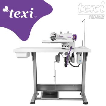 TEXI ACCURA PREMIUM Машина потайного стежка для легкиx и средниx материалов с серводвигателем - комплект