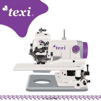 TEXI COMPACTA 1YG Портативная машина потайного стежка для лёгкиx и средниx материалов