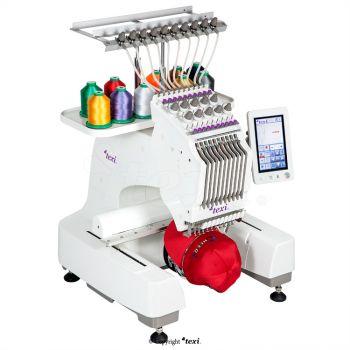 TEXI IRIS 10 Одноголовочная, 10-игольная вышивальная машина