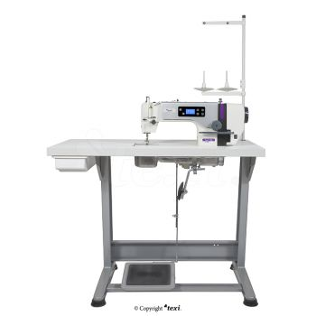 TEXI TRONIC 1 NEO PREMIUM Mechatronic lockstitch machine for light and medium materials with needle positioning - complete machine