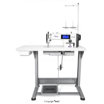 TEXI TRONIC 6 NEO PREMIUM Automatic, mechatronic lockstitch machine with closed lubrication circuit and touch screen panel - the complete sewing machine