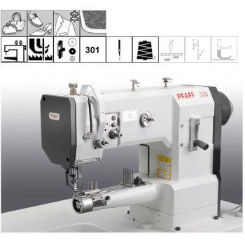 PFAFF 335-G-17/01-650/03 BLN окантовочная швейная машина PFAFF 335 в комплекте со столом и энергосберегающим мотором.