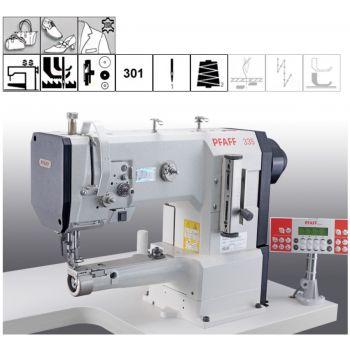 PFAFF 335-G-6/01 BLN швейная машина в комплекте со столом и энергосберегающим мотором.