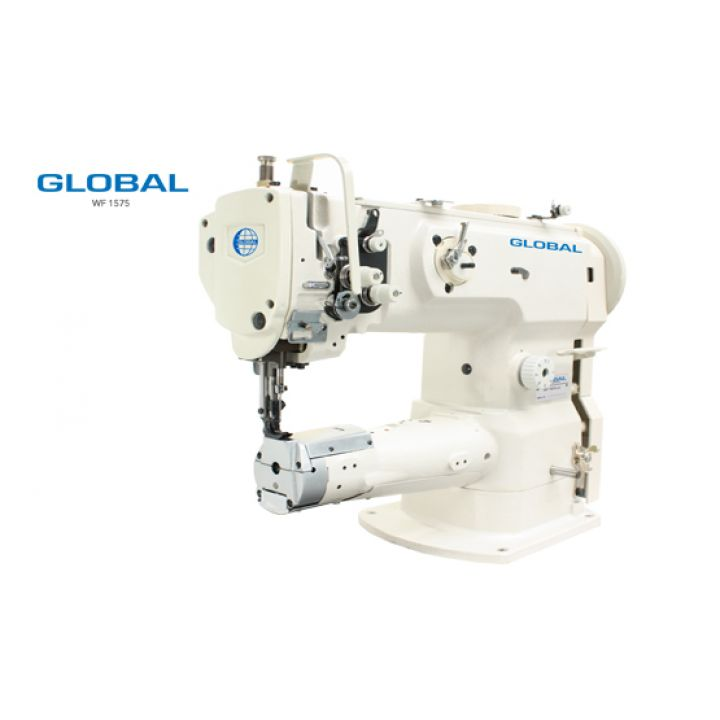 Global WF 1575 LH одноигольная швейная машина челночного стежка с рукавной платформой