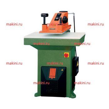 Atom S125L вырубочный пресс, размер плиты 1000x500 мм, ширина  ударника 610 мм, усилие 25 т. Производство Atom Spa (Италия)
