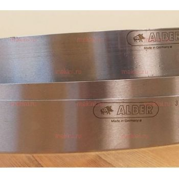 3800x50x0.8 Нож ленточный Alber 165CUT (Германия) для двоильной машины Camoga Cn512